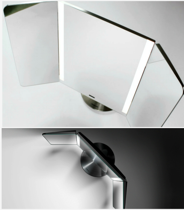 Настольное зеркало Wide-View Sensor Light. Настольное зеркало, которое создано для того, чтобы созда