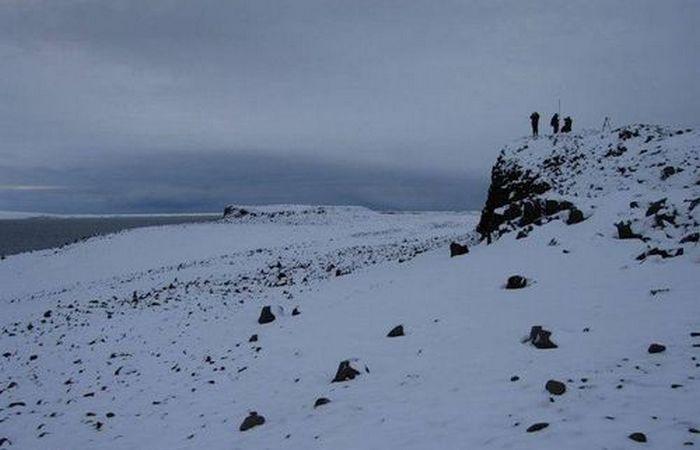 Остров Земля Александры. ./фото: mediaspy.ru  Все найденные объекты будут перевезены на мате