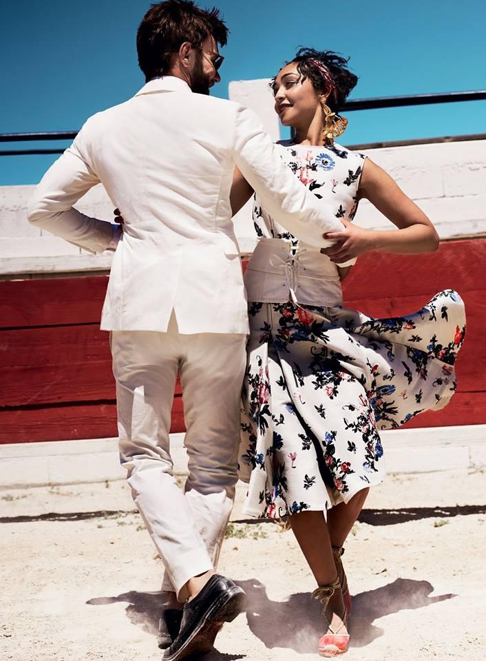 Рут Негга и Джоэл Эдгертон в Vogue