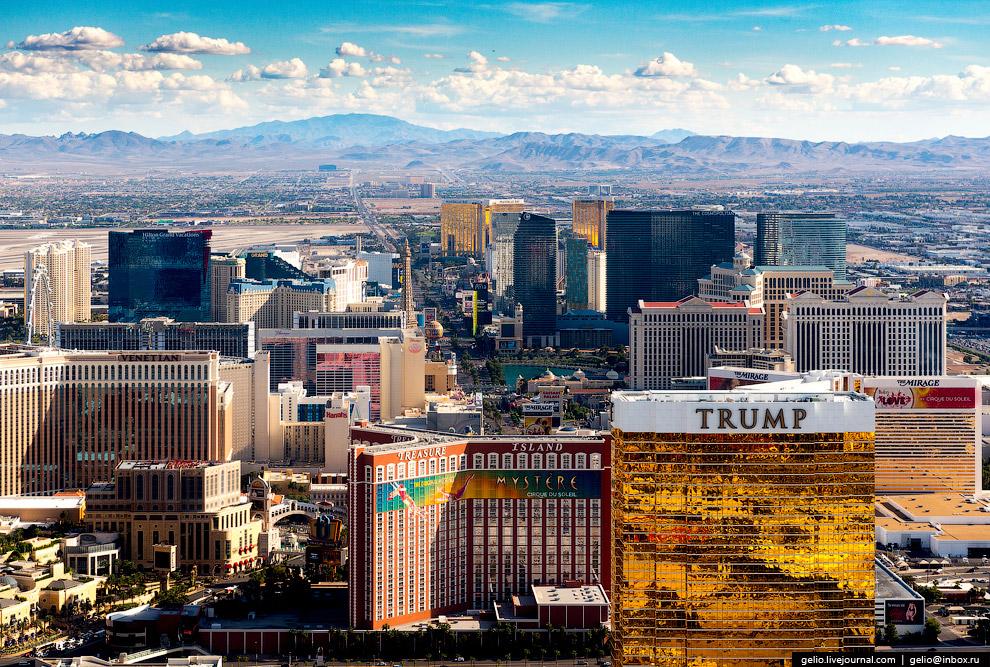 26. Построенный в 1997 году «уголок» Нью-Йорка в Лас-Вегасе: здания, копирующие знаковые небоск