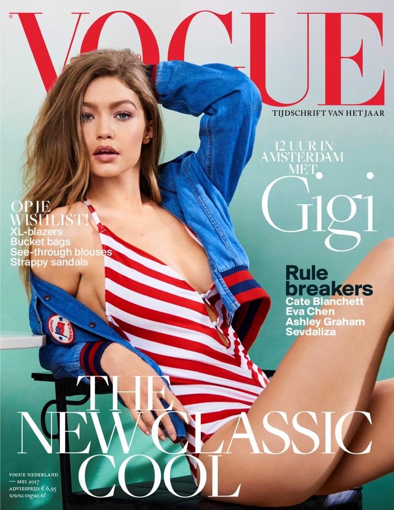 Джиджи Хадид в Vogue Netherlands (5 фото)