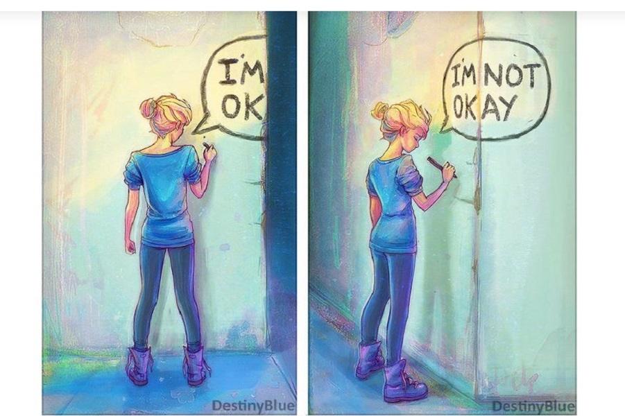 Искусство про психическую болезнь