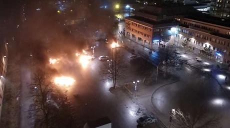 Виммигрантском районе Стокгольма вспыхнули беспорядки