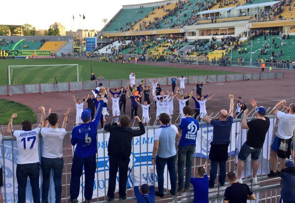 Столичное «Динамо» обыграло «Кубань» и преждевременно оформило победу впервенстве ФНЛ