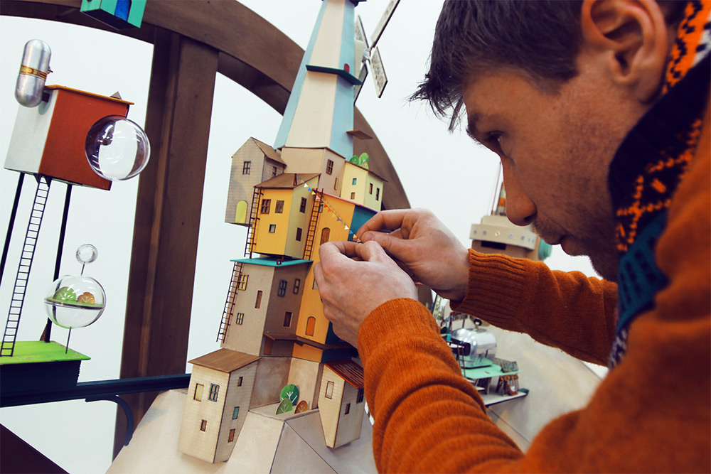Lumino City: A Handmade Paper Video Game by State of Play
