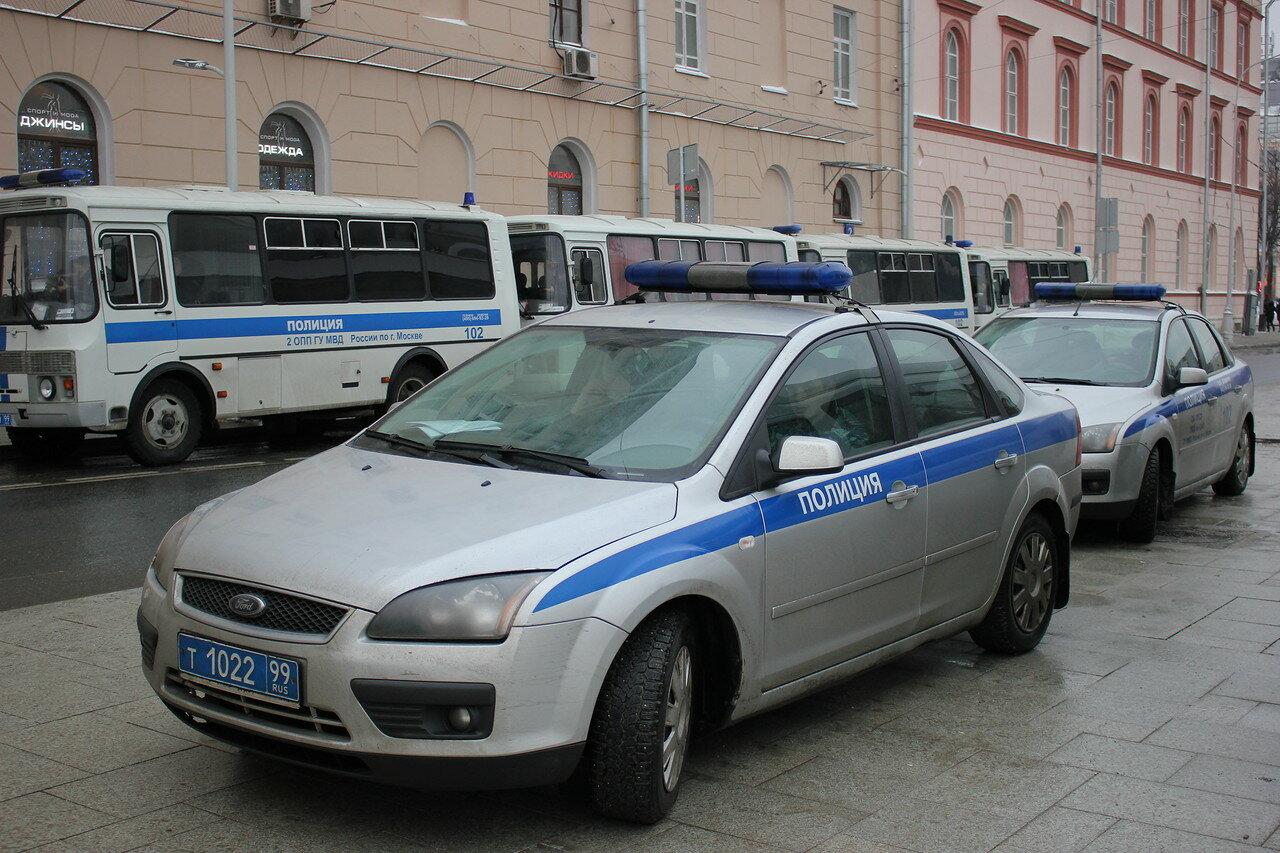 полиция Москва
