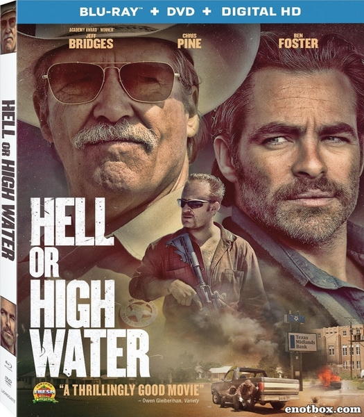 Любой ценой / Hell or High Water (2O16/BDRip/HDRip)