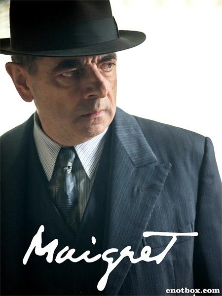 Мегрэ (1 сезон: 1-2 серии из 2) Мегрэ расставляет сети / Maigret: Maigret Sets a Trap / 2016 / ЛО / HDTVRip