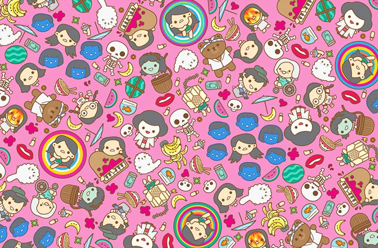 Mass Hysteria - Les adorables illustrations Pop Culture de 100% Soft