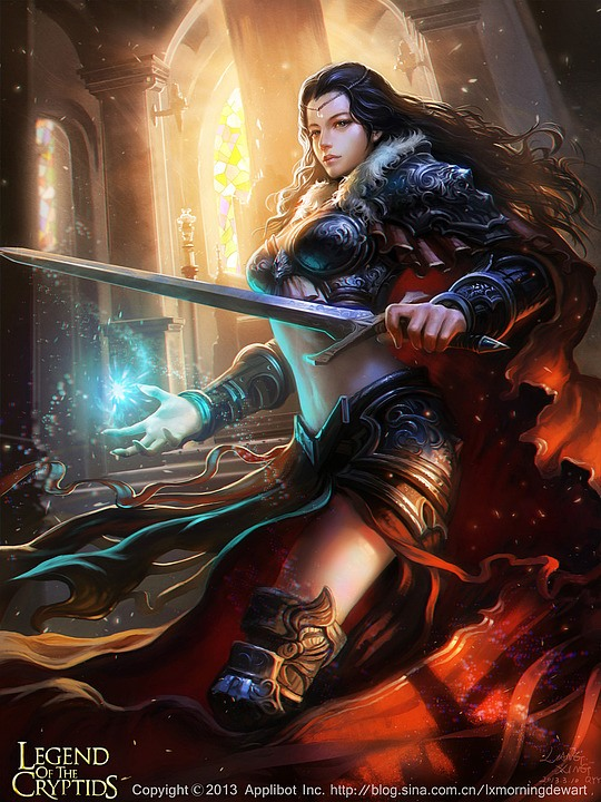 Stunning Fantasy Portraits by Liang Xing
