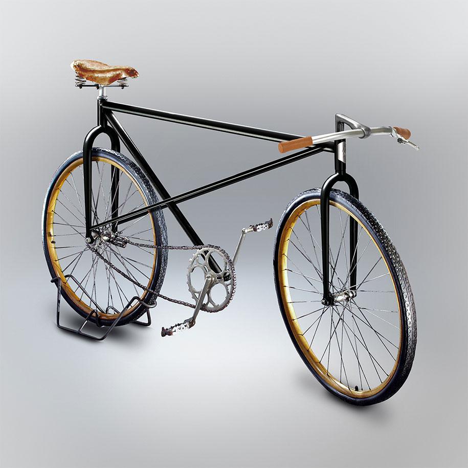 Designer cria em 3D bicicletas que seus amigos desenharam