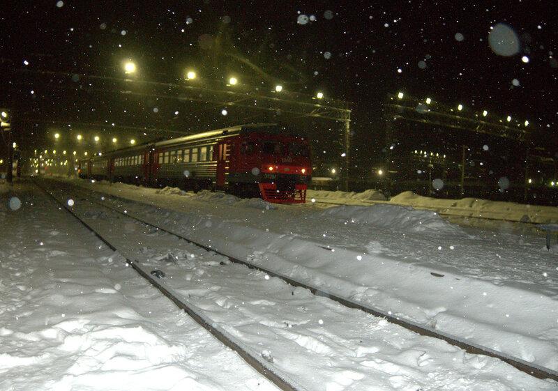 железная дорога, Свирь