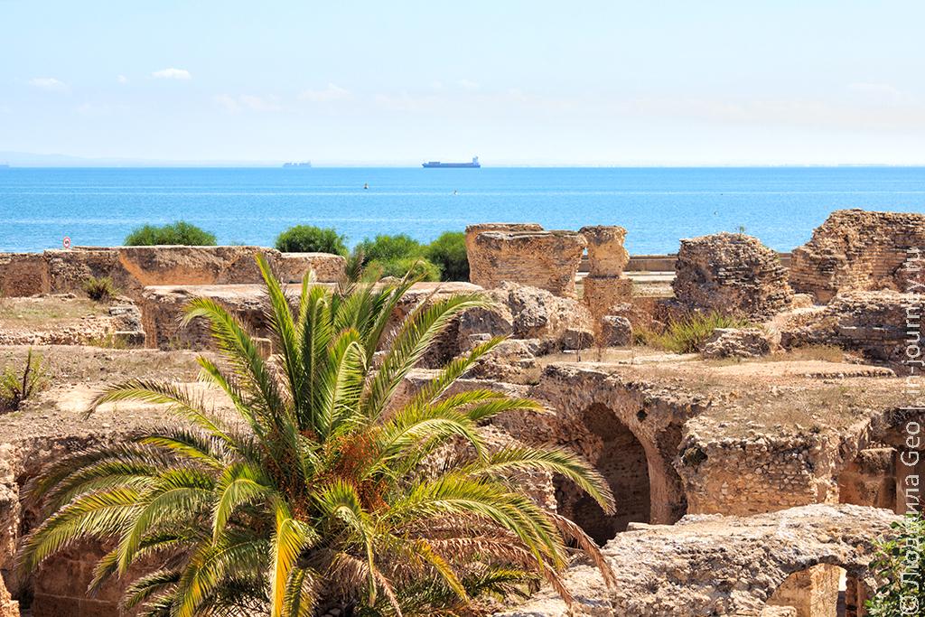 экскурсия в Карфаген Тунис