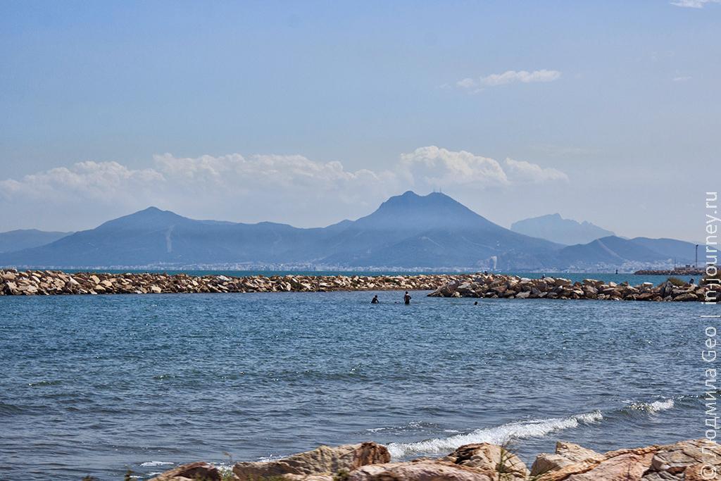 пейзаж Тунис фото