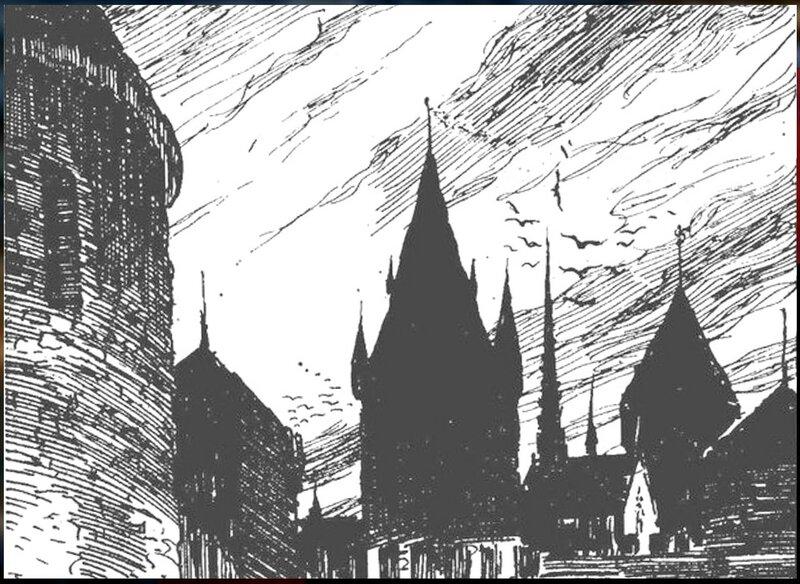 Рисунки художника Г. Г. Филипповского. Ил - я романа В. Скотта. Квентин Дорвард (1).jpg