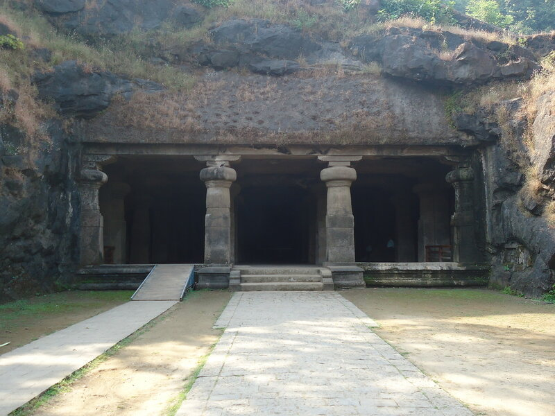 Элефанта. Пещерный храм Шивы