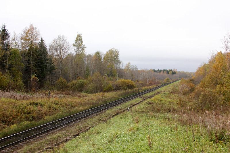 Здесь должен быть поезд, 622-й км перегона Себеж - Гарнея