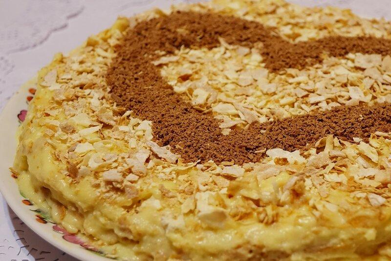 торт наполеон по бабушкиному рецепту