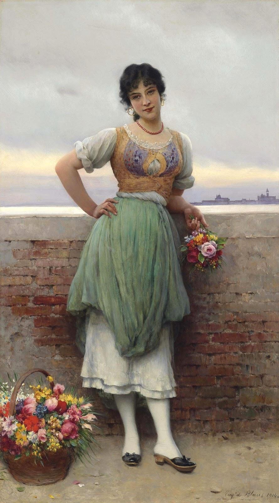 1914 Венецианская цветочница Частное собрание.jpg