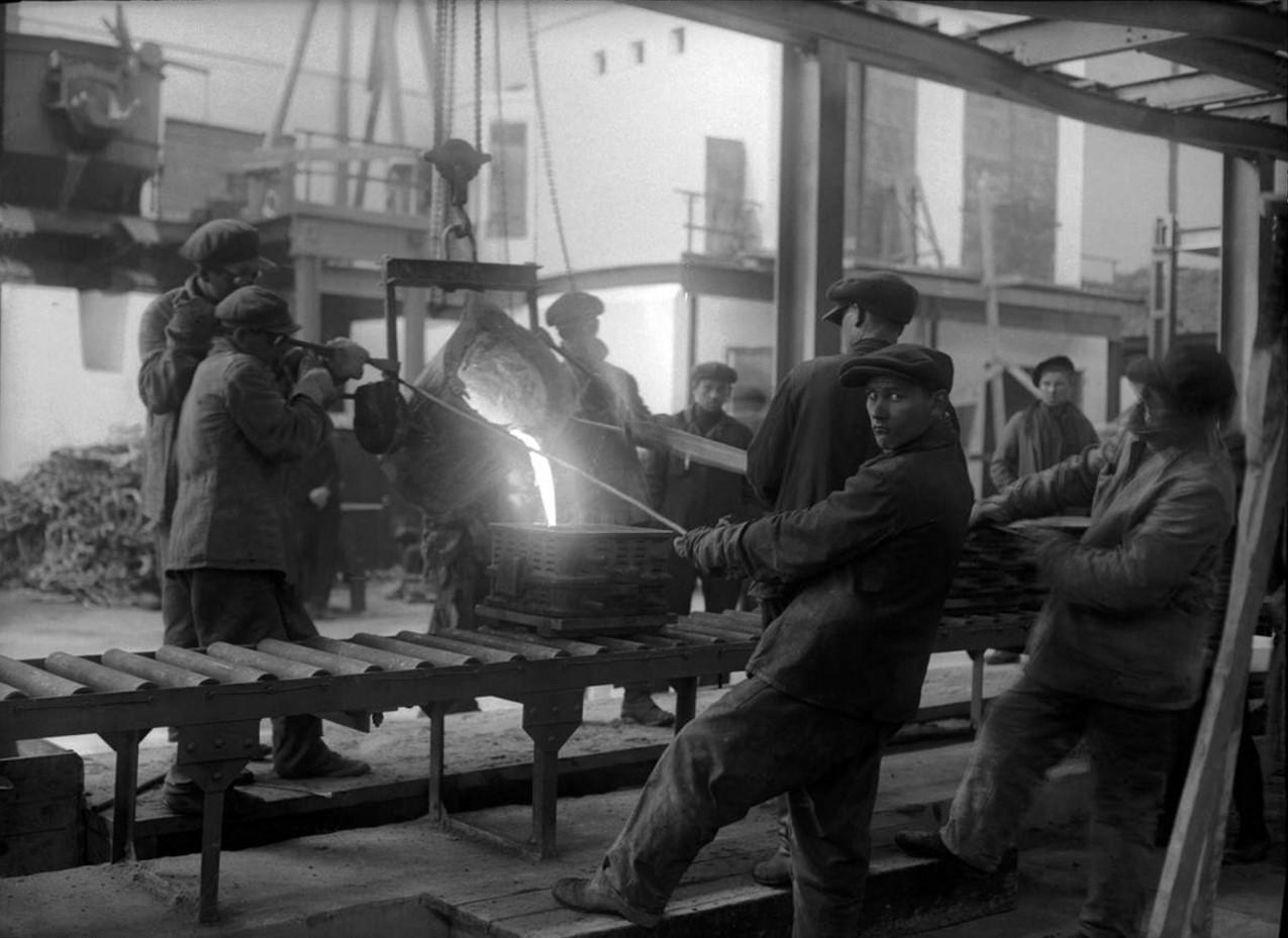 ЧТЗ. Литейный цех. 1933