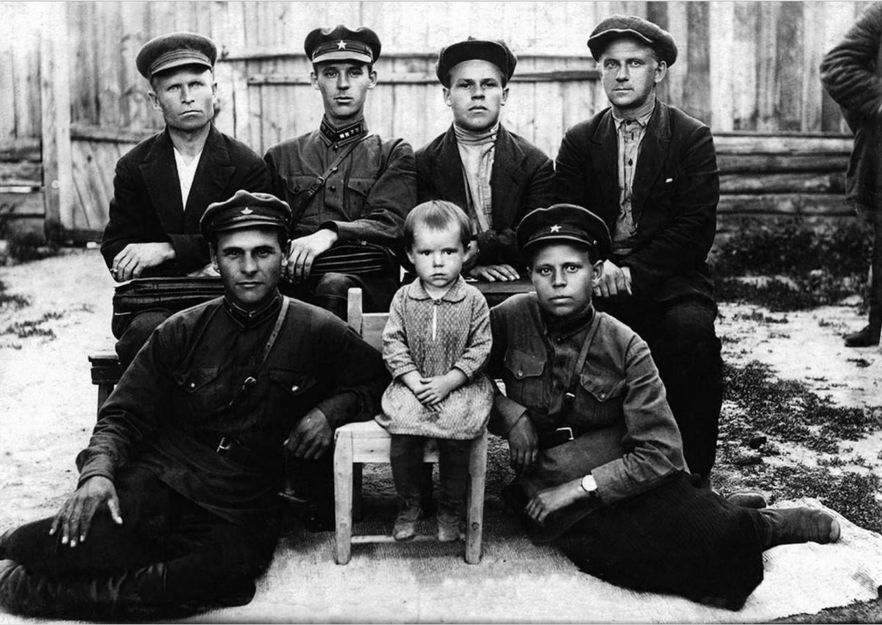 Челябинскская обл. Комсостав (районное отделение И.Т.Р.) и прокуратура Катайского района. 1934