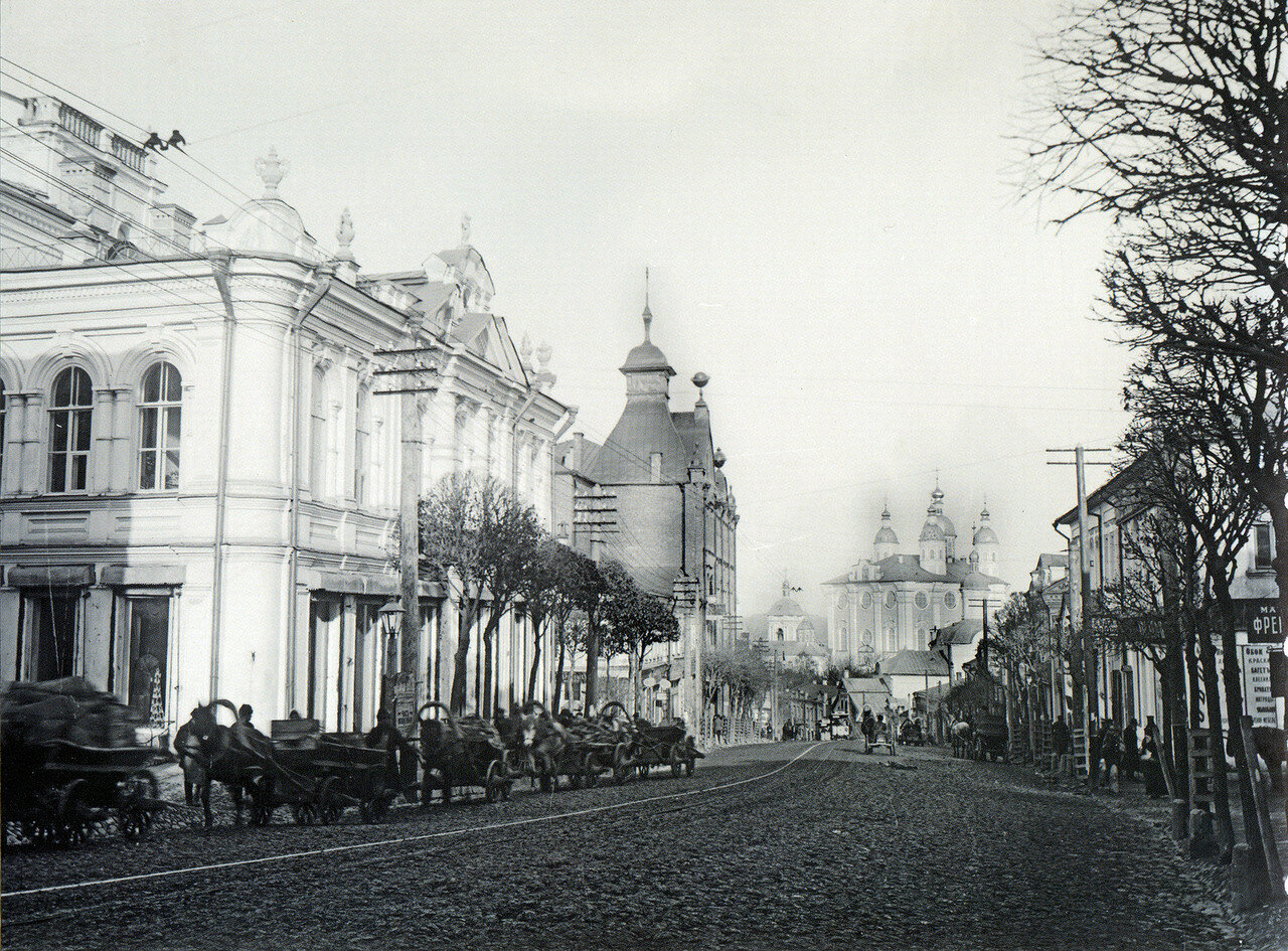 Большая Благовещенская улица. 1907
