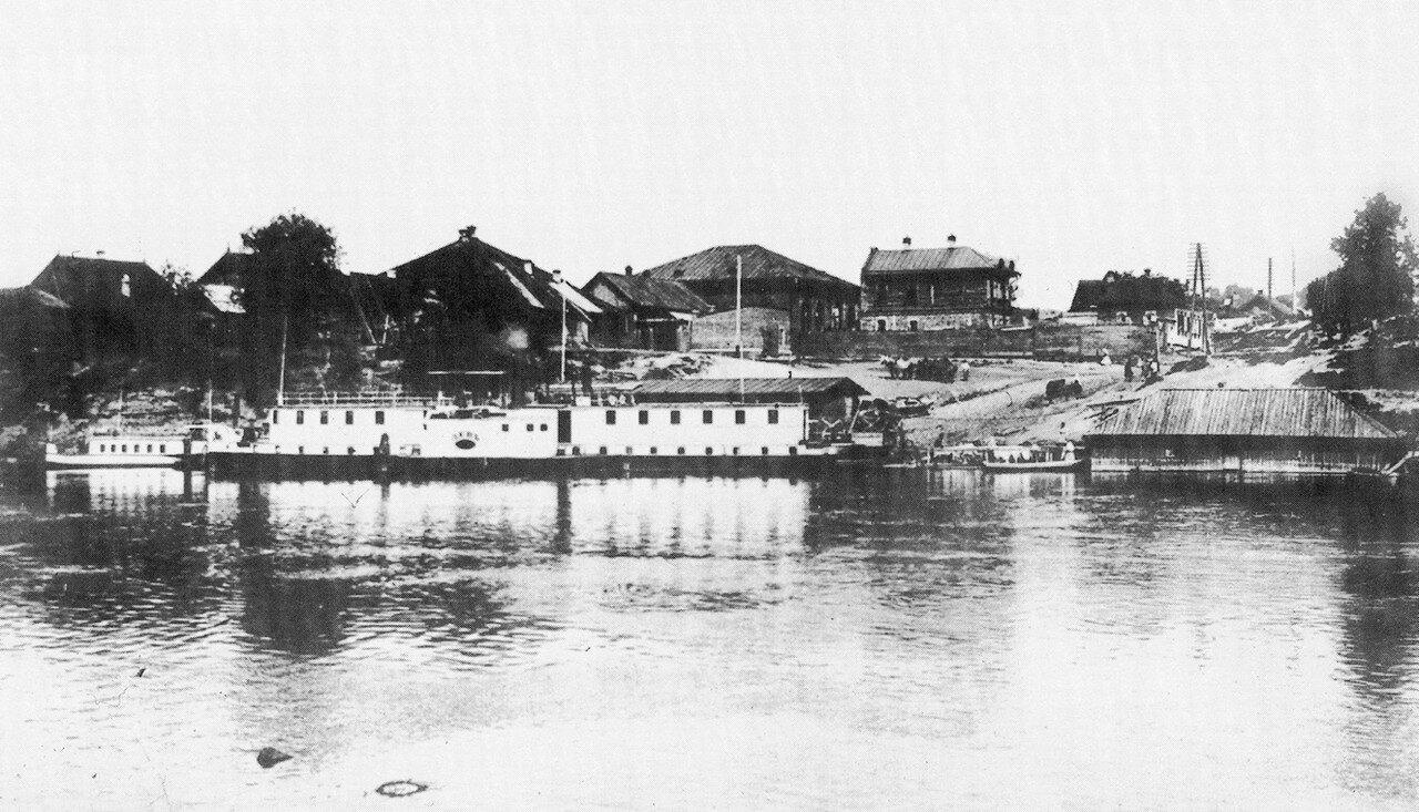 Пятницкая пристань. 1900-е