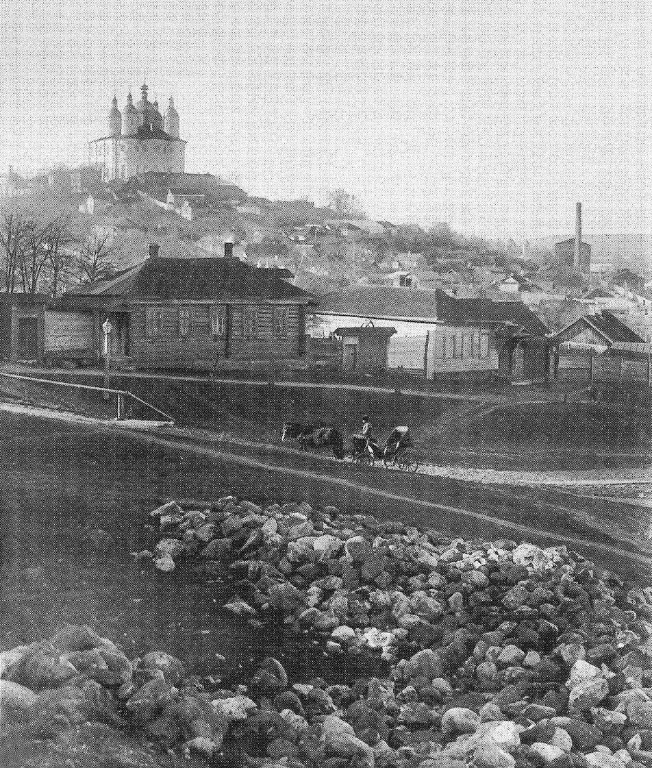 Соборная гора и Покровская улица. 1900-е