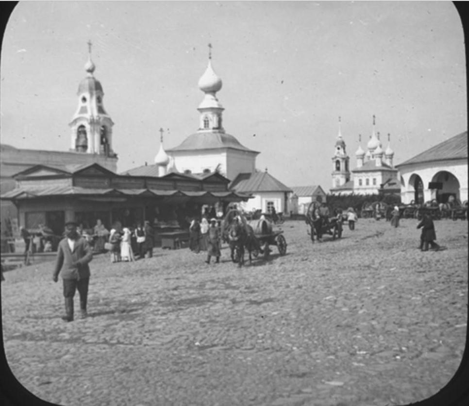 Кострома. Торговая площадь