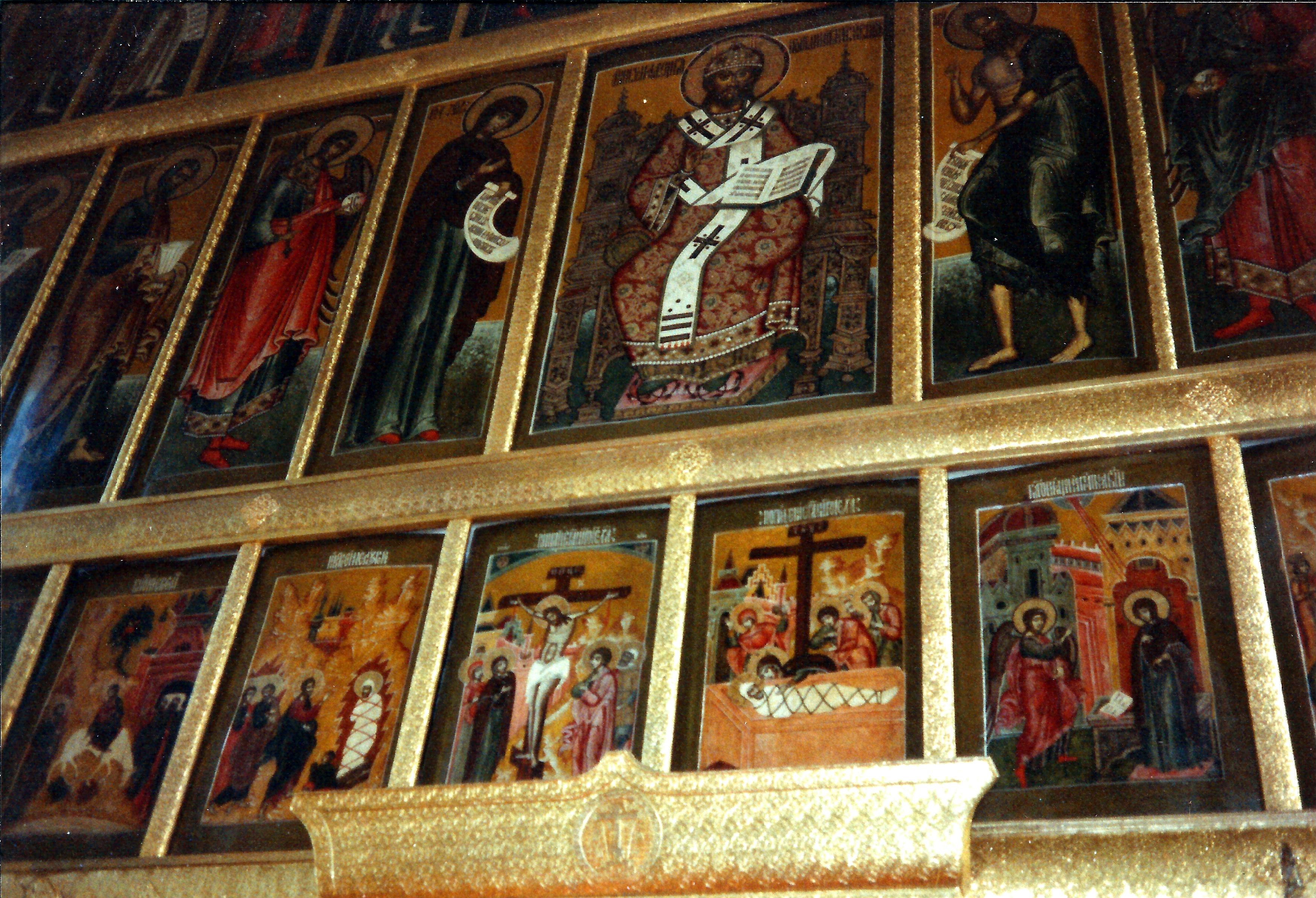 Данилов монастырь. Иконостас