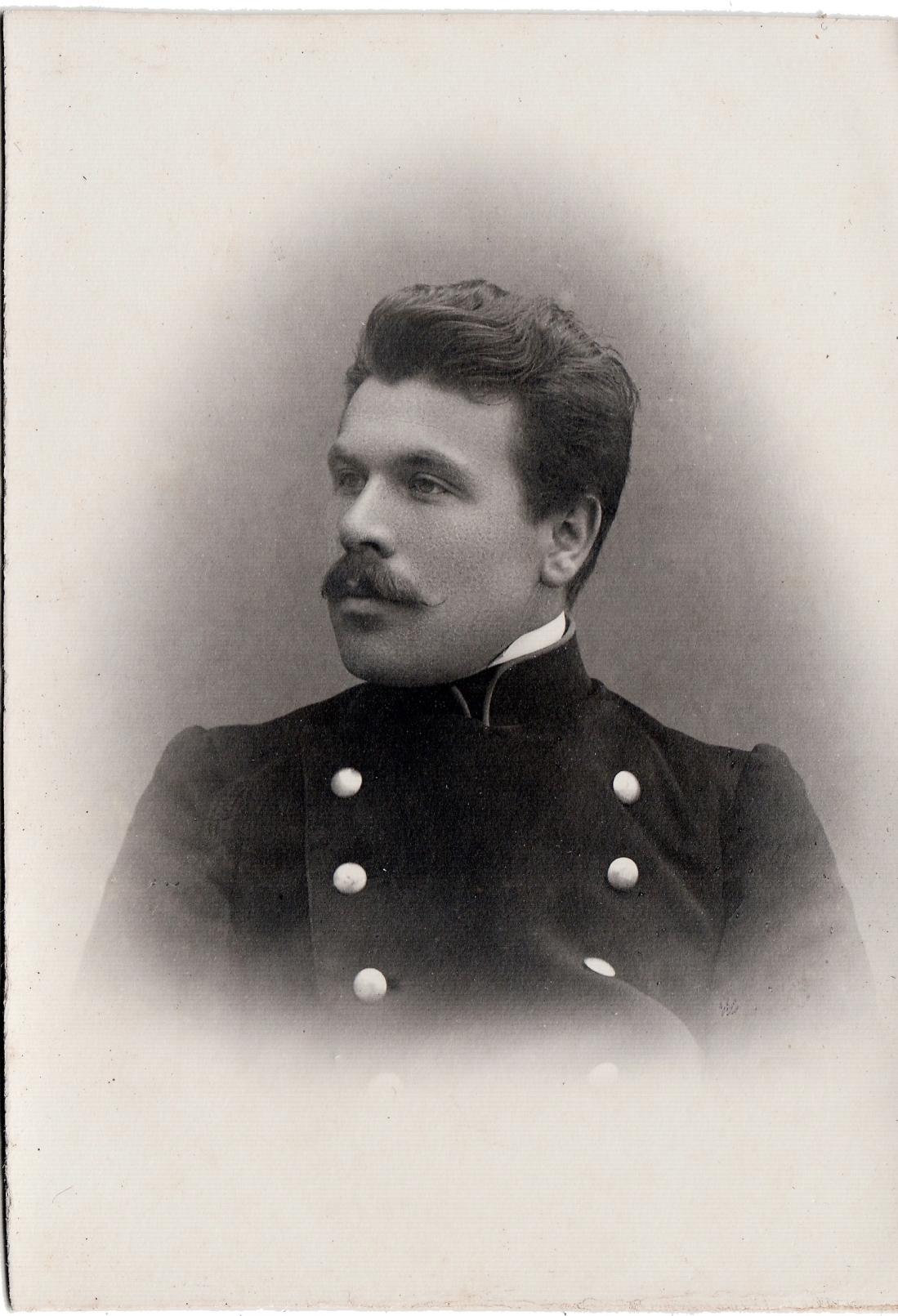 Студент Гиляревский Александр.  II отделение 2 разряд. (скончался в 1938 году в ссылке)
