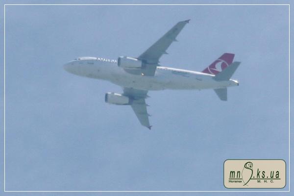 Турецькі авіалінії, рейс Стамбул-Херсон