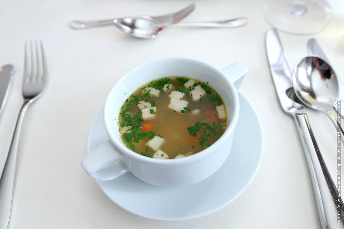 Суп гороховый со свининой и копченостями