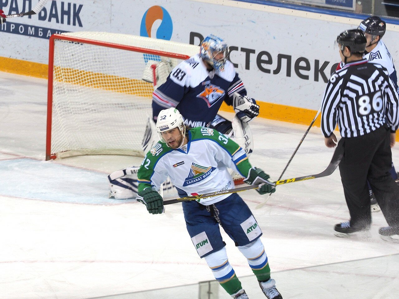 10Плей-офф 2016 Восток Финал Металлург - Салават Юлаев 25.03.2016