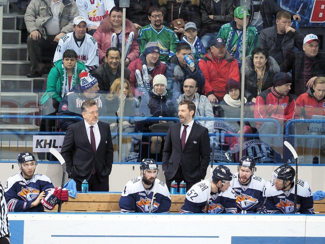 55Плей-офф 2016 Восток Финал Металлург - Салават Юлаев 25.03.2016