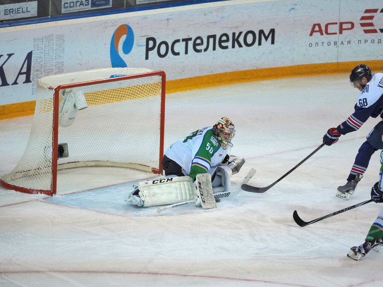 56Плей-офф 2016 Восток Финал Металлург - Салават Юлаев 25.03.2016