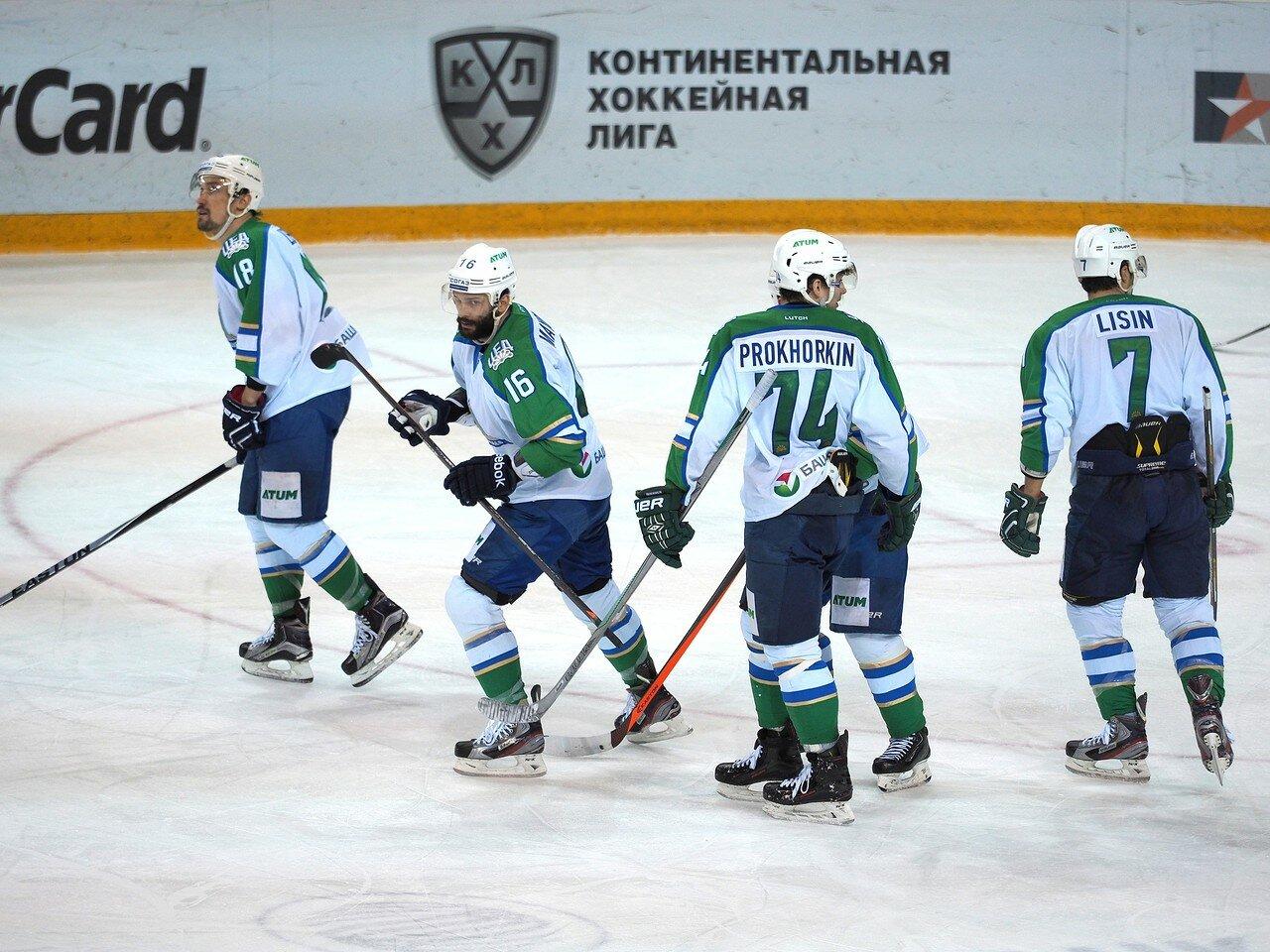 63Плей-офф 2016 Восток Финал Металлург - Салават Юлаев 25.03.2016