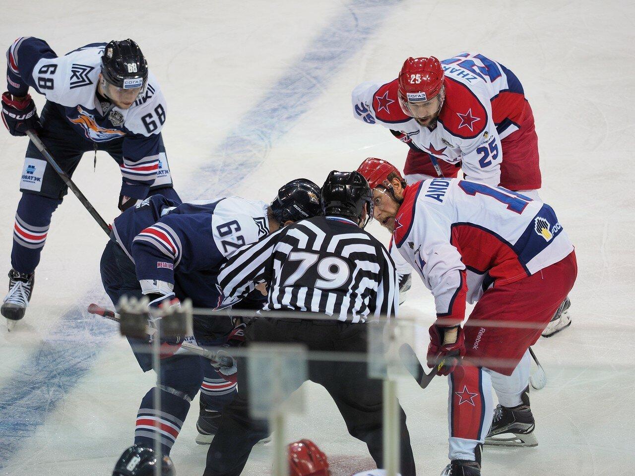 47Плей-офф 2016 Финал Металлург - ЦСКА 11.04.2016