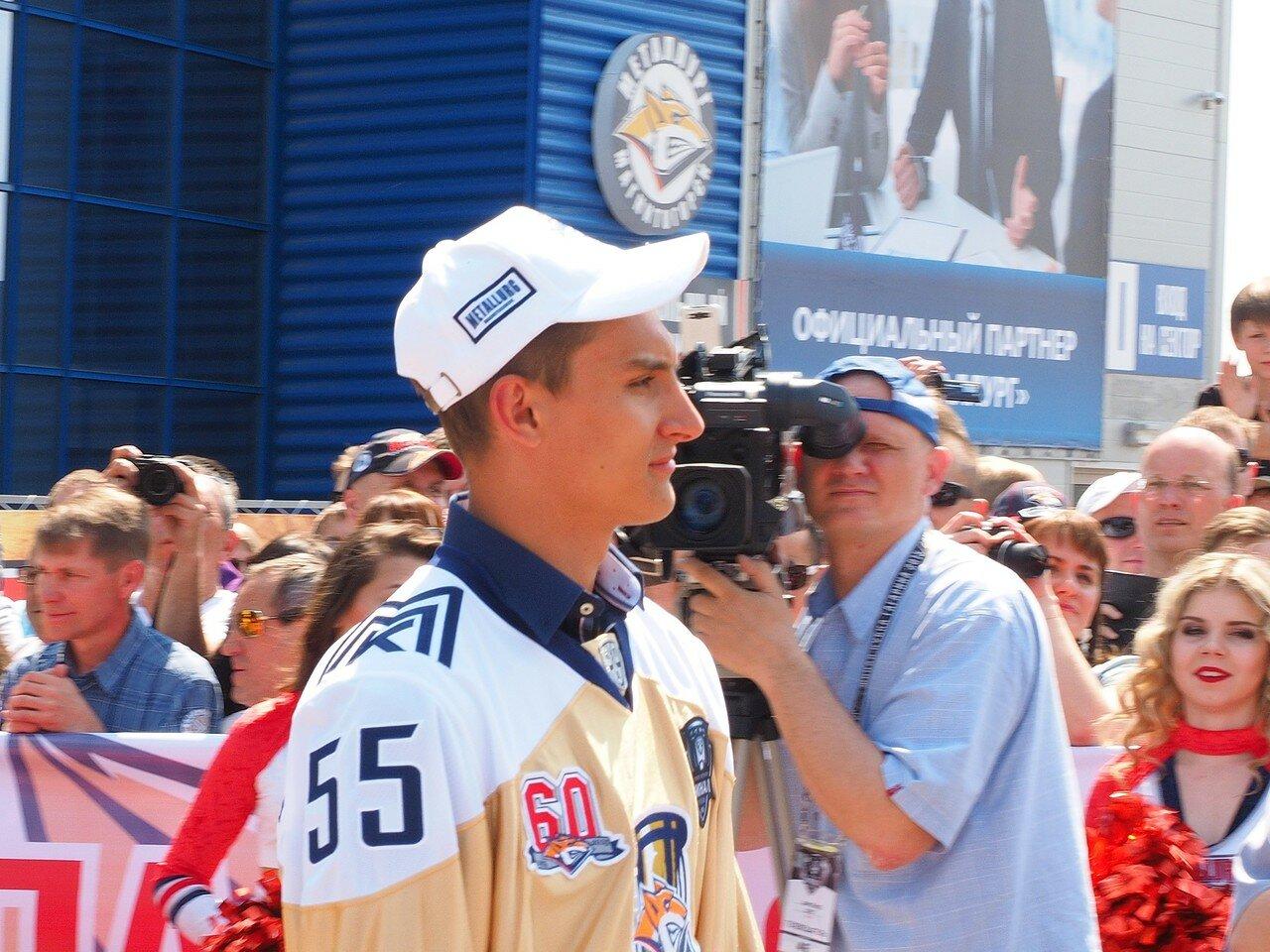 63Церемония чествования команды Металлург27.05.2016