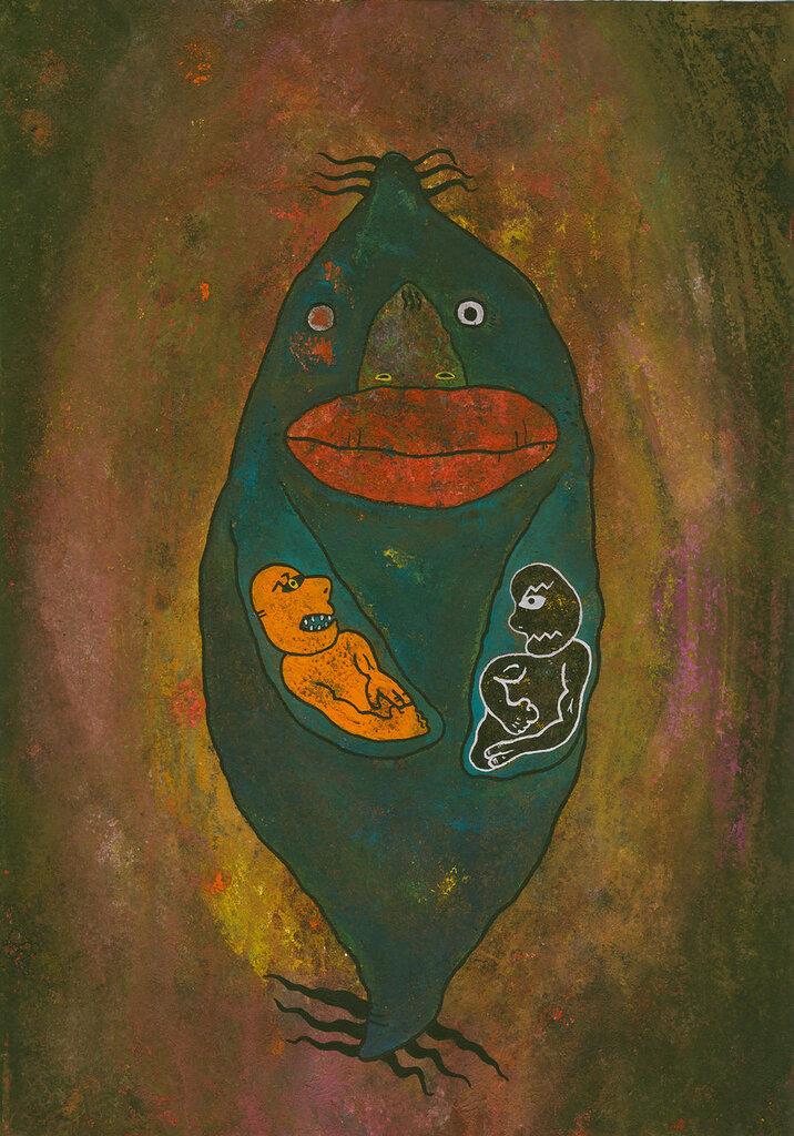 Рыба ''Равнодушие - ярость''