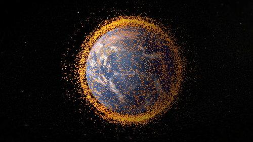 Для космического мусора инженеры придумали «липучку»