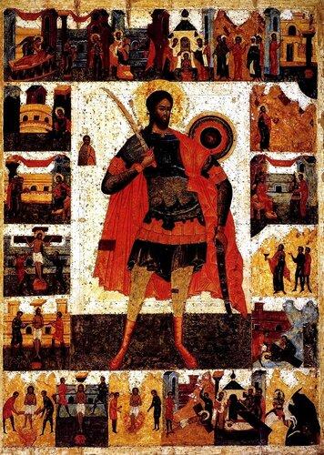 Святой Великомученик Никита Готфский.