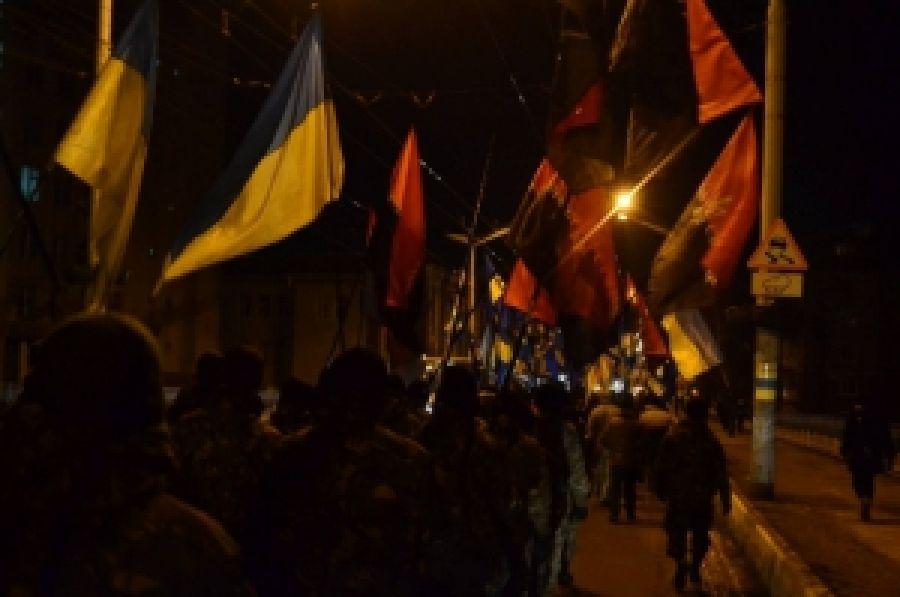 На Тернопольщине почтили героев Крут