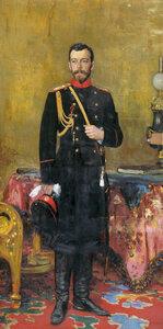 Илья РЕПИН. 1895. Холст, масло. Николай II.jpg