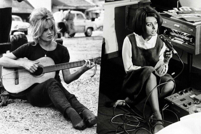Сравнение несравненных актрис Брижит Бардо и Софи Лорен