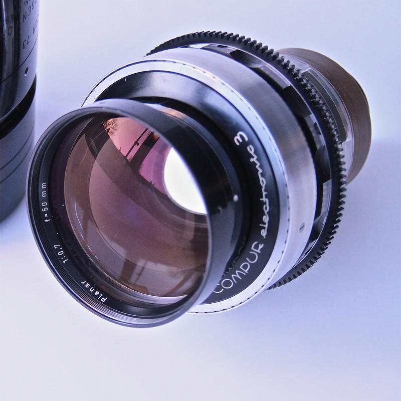 3. Экстремально светосильный: Carl Zeiss Planar 50 мм F/0.7 Первоначально этот объектив разработали