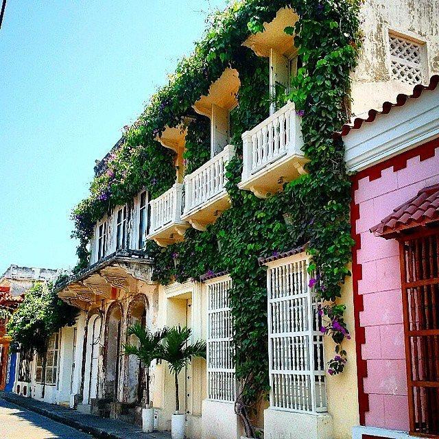 Картахена, Колумбия. Божественно красивый рыбацкий городок на побережье Карибского моря всю историю