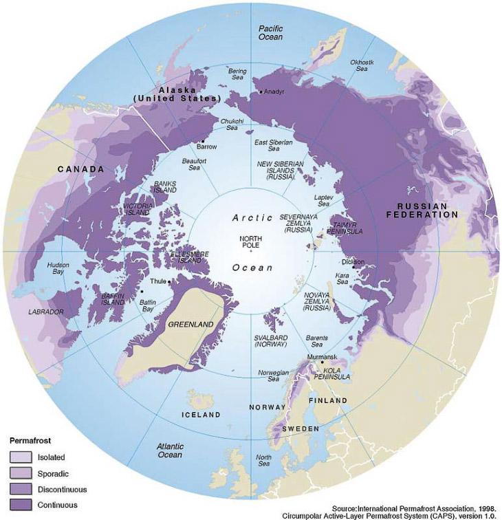 2. Оставим Гренландию, Норвегию и прочую Европу. Сосредоточимся только на нашем Северо-Востоке и Аля
