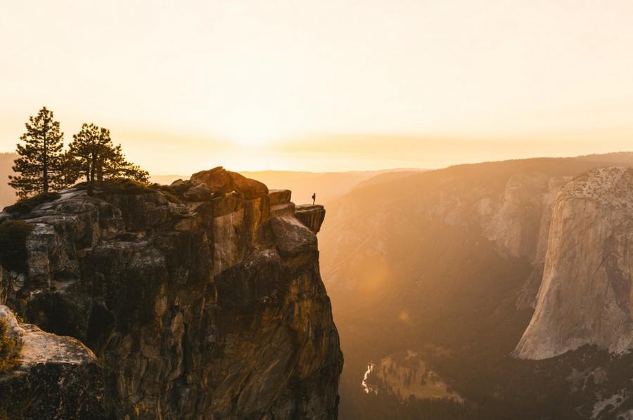 2. Национальный парк Йосемити, Калифорния, США.