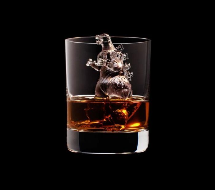 Ледяные скульптуры для охлаждения виски